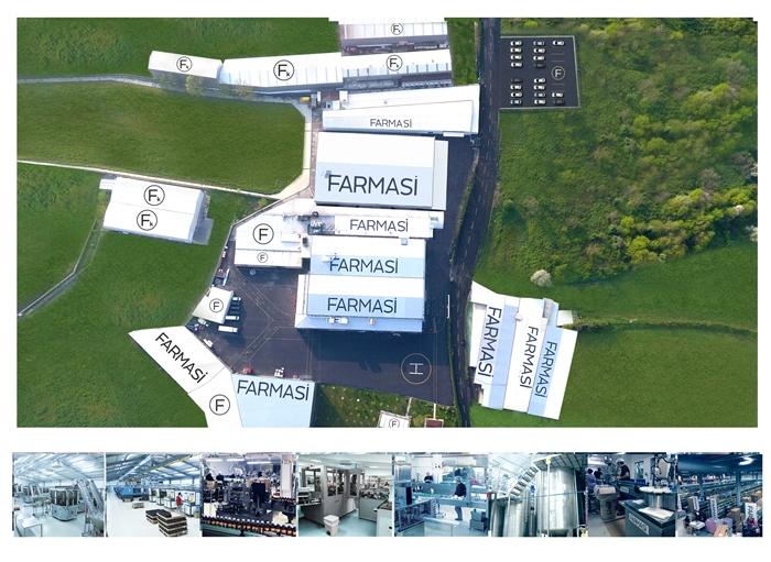 Farmasi cég, Farmasi gyár