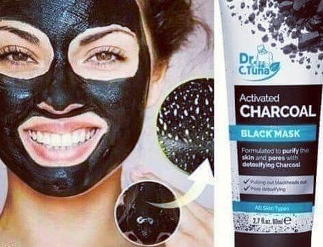 Farmasi méregtelenítő fekete maszk aktív szénnel