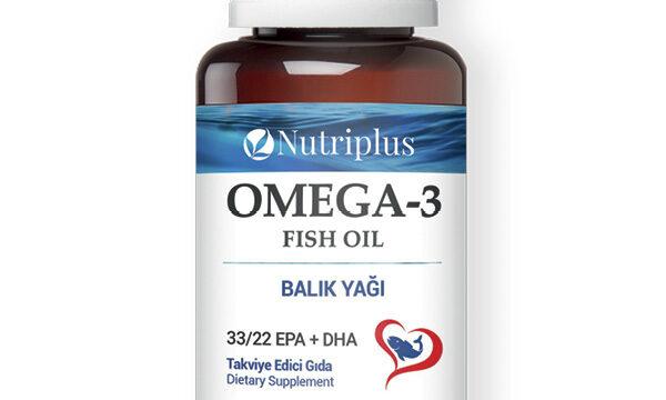 Farmasi NUTRIPLUS OMEGA-3 HALOLAJ kapszula